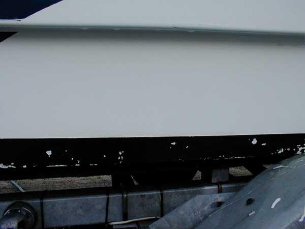 Motorbåten etter overgang med Power Clean